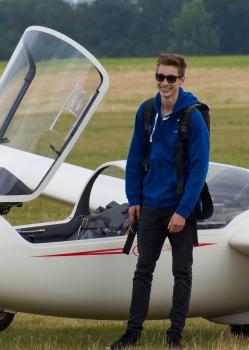 Vom Segelflieger zum Verkehrspiloten