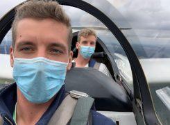 Fliegen mit Maske: So erlebte ein Mülheimer Sportverein das Corona-Jahr
