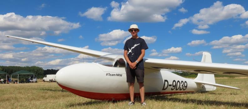 Mein 50 Kilometer Überlandflug
